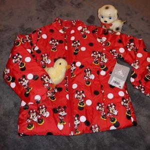 NWT Kid's Minnie Mouse Jacket